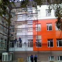 монтаж керамогранитного фасада в москве