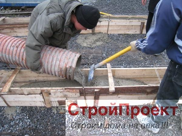 Столбчато ленточный фундамент
