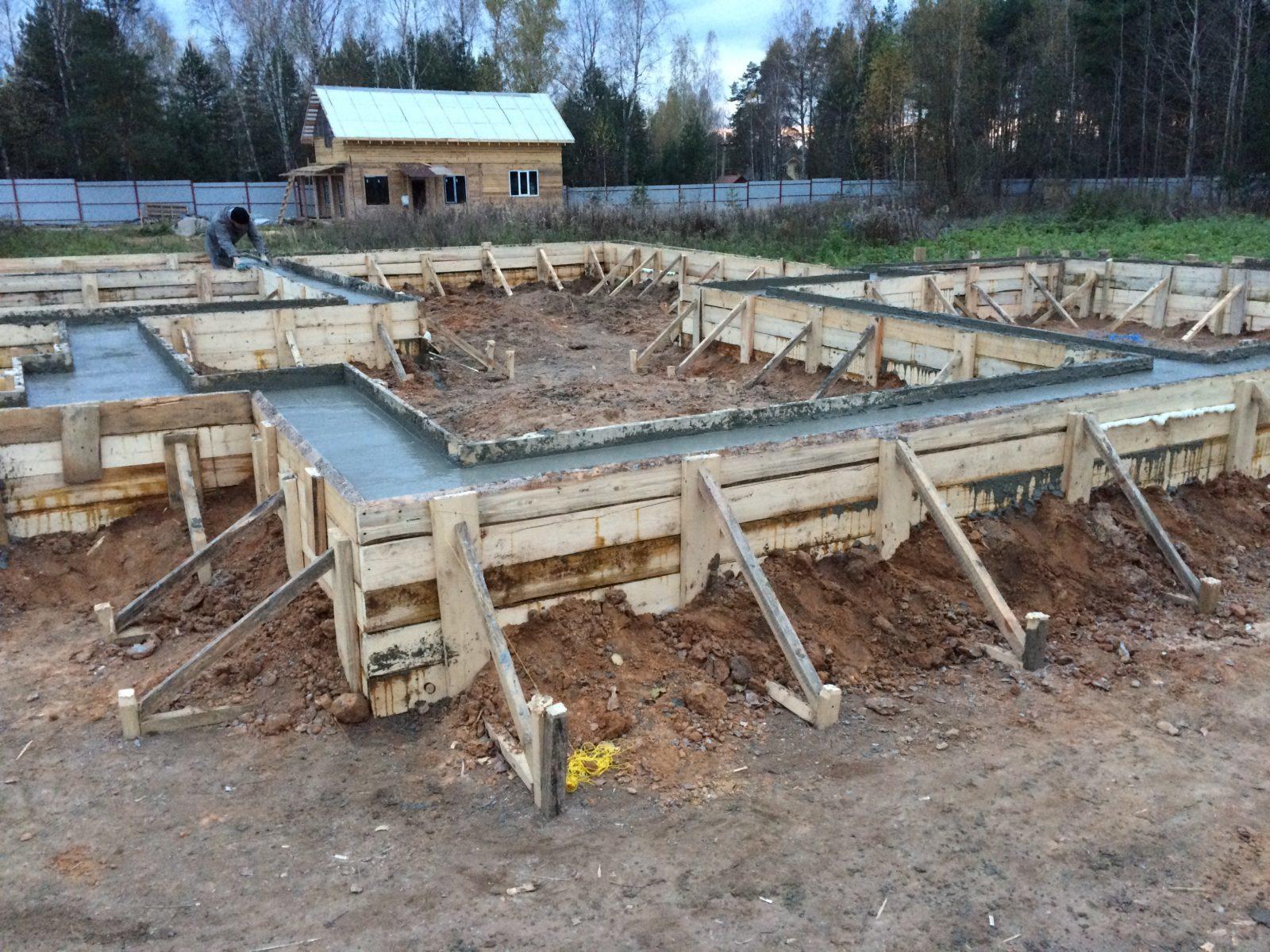 Мелкозаглубленный фундамент в москве