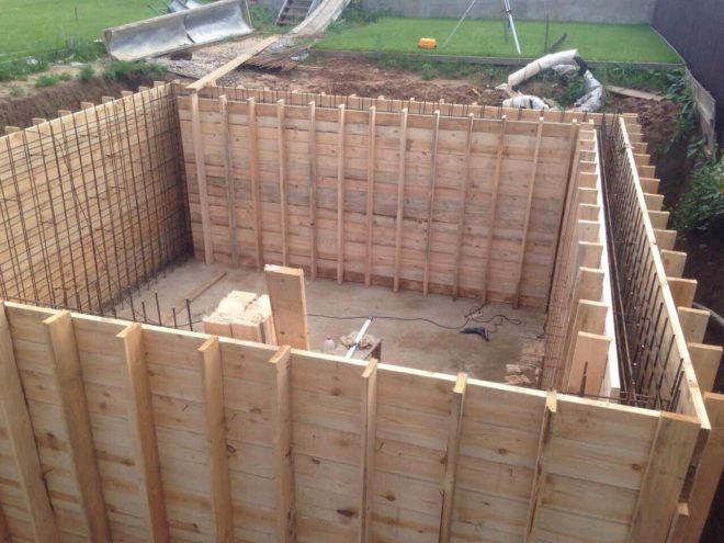Строительство цокольного этажа в Апрелевке